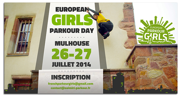 Parkour day filles 2014